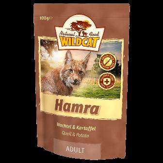 Wildcat Hamra - Паучи для кошек (перепел и сладий картофель) 100 гр