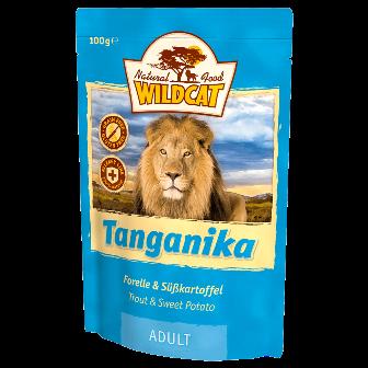Wildcat Tanganica - Паучи для кошек (форель и батат) 100 гр