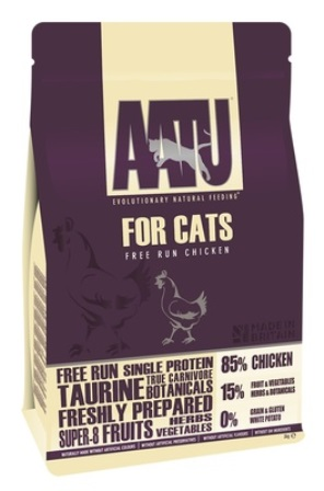 AATU CAT CHICKEN - Корм для кошек Курица 85/15 3 кг