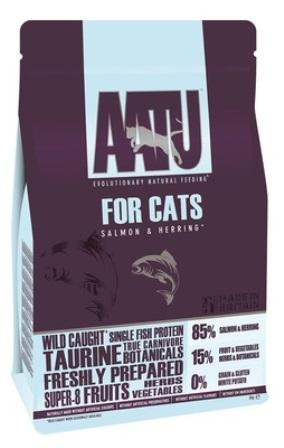 AATU CAT SALMON&HERRING - Корм для кошек Лосось и Сельдь 85/15 3 кг