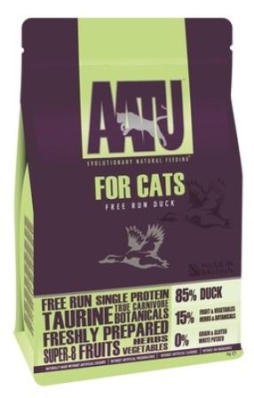 AATU CAT DUCK - Корм для кошек Утка 85/15 1 кг