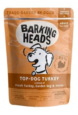 Barking Heads - Паучи для собак с индейкой Бесподобная индейка 300 гр
