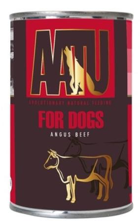 AATU - Консервы для собак Говядина Ангус 400 гр
