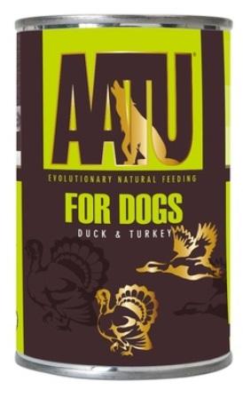 AATU - Консервы для собак Утка и Индейка 400 гр
