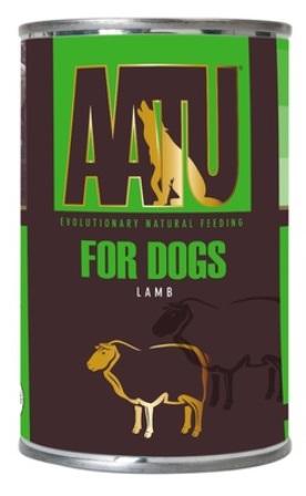 AATU - Консервы для собак Ягненок 400 гр