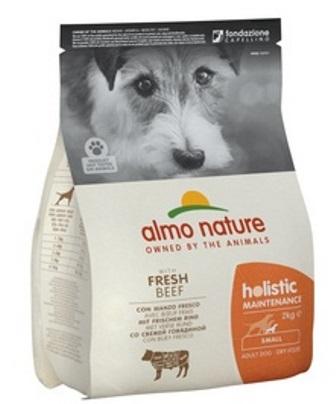 Almo Nature Holistic - Для Взрослых собак Малых пород с Говядиной 2 кг