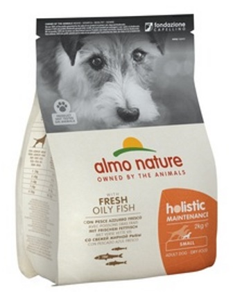 Almo Nature Holistic - Для Взрослых собак Малых пород с Рыбой 2 кг