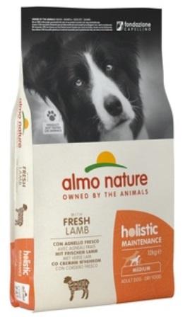 Almo Nature Holistic - Для Взрослых собак с Ягненком 12 кг