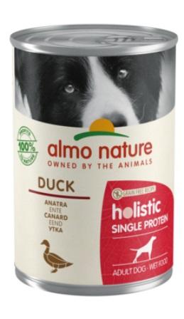 Almo Nature Daily Menu - Консервы для собак с чувствительным пищеварением с Уткой (монобелковый рацион) 400 гр