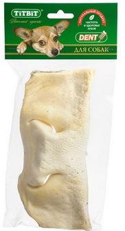 TITBIT (Титбит) - Нос телячий бабочка большая для собак (мягкая упаковка)