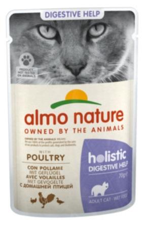 Almo Nature Functional - Паучи для чувствительного кишечника с птицей 70 гр