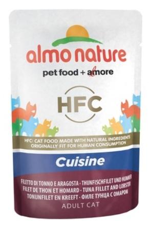 Almo Nature Classic Cusine - Паучи для кошек с Тунцом и Лобстером 55 гр
