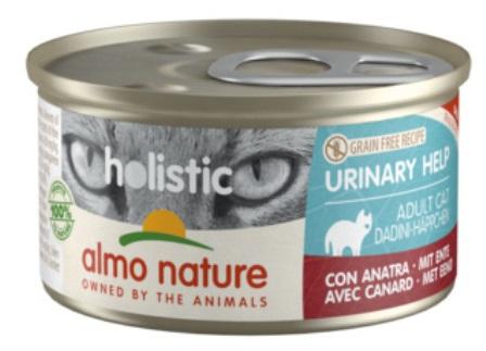 Almo Nature - Консервы с уткой для профилактики мочекаменной болезни 85 гр