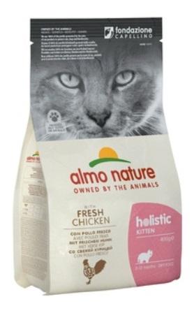 Almo Nature Kitten Chicken&Rice (Алмо Натюр Киттен Чикен энд Райс) - Cухой корм для котят всех пород (курица с коричневым рисом) 2 кг