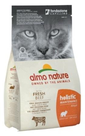 Almo Nature Adult Cat Beef &Rice (Алмо Натюр Эдалт Кэт Биф энд Райс) - Cухой корм для взрослых кошек всех пород (говядина с коричневым рисом) 2 кг