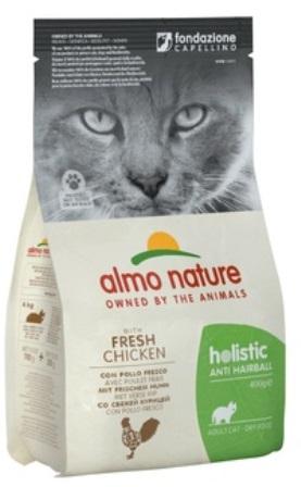 Almo Nature Functional (Алмо Натюр Функшенал) - Для кошек контроль вывода шерсти с курицей и рисом 0,4 кг