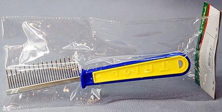 Triol (Триол) - Расческа с разными зубьями c пластиковой ручкой (20 см)