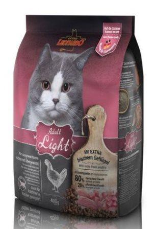 Leonardo (Леонардо) - Сухой корм для кастрированных, склонных к полноте и пожилых кошек 0,4 кг