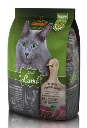 Leonardo (Леонардо) - Сухой корм для взрослых кошек склонных к аллергии на основе ягненка и риса 0,4 кг
