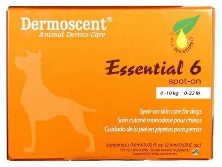 Essential (Эссеншиал) - Капли для ухода за кожей Спот-он для собак L (20-40 кг) 4 пипетки