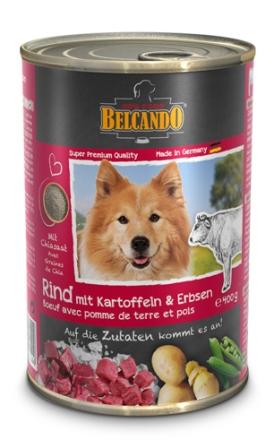 Belkando (Белькандо) - Консервы для собак с говядиной 400 гр