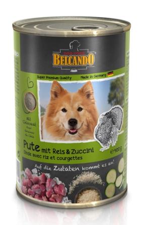 Belkando (Белькандо) - Консервы для собак с индейкой 400 гр
