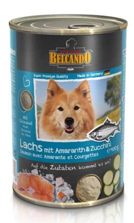 Belkando (Белькандо) - Консервы для собак с лососем 400 гр