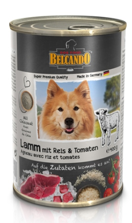 Belkando (Белькандо) - Консервы для собак с ягненком 400 гр