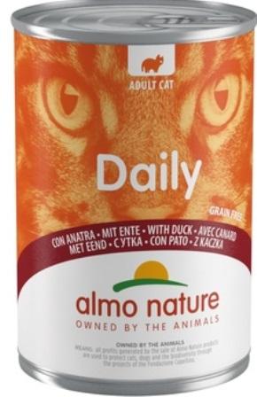 Almo Nature Daily Menu - Консервы для кошек Меню с Уткой 400 гр