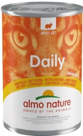 Almo Nature Daily Menu - Консервы для кошек Меню с Курицей 400 гр