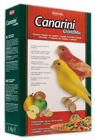 PADOVAN Grandmix Canarini - Основной корм для Канареек 400 гр