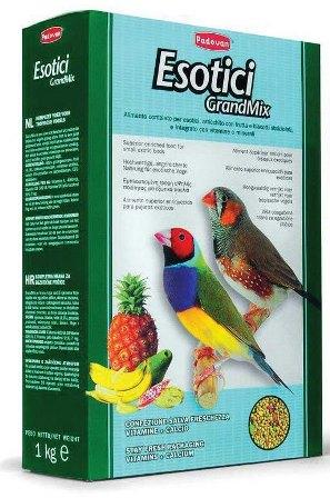 PADOVAN Grandmix Esotici - Основной корм для Экзотических птиц 400 гр