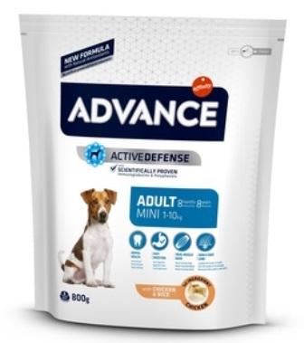 Advance - Для взрослых собак малых пород с курицей и рисом 3 кг (Mini Adult)