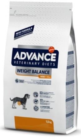 Advance - Для собак малых пород при ожирении (Weight Balance Mini) 1,5 кг
