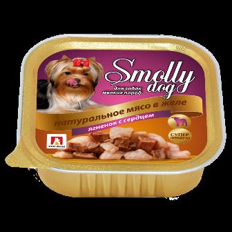 Смолли Дог - Ламистер для собак Ягненок с сердцем 100 гр