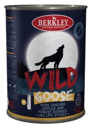 Berkley (Беркли) - Консервы Гусь с цукини яблоками и лесными ягодами для собак всех возрастов №1 400 гр