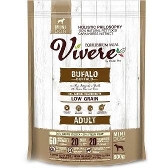 Vivere Mini - Сухой корм для собак мелких пород буйвол 3 кг