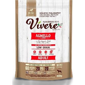 Vivere Mini - Сухой корм для собак мелких пород ягненок 3 кг