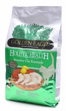 Golden Eagle Holistic For Cat (Голден Игл Холистик Фор Кэт) - Корм для взрослых кошек при аллергии 2 кг