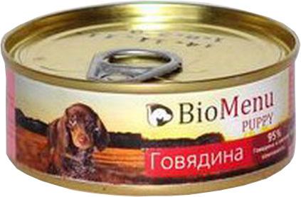 BioMenu Puppy (БиоМеню Паппи) - Консервы для щенков Говядина 100 гр