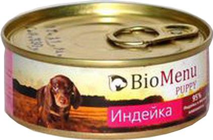 BioMenu Puppy (БиоМеню Паппи) - Консервы для щенков Индейка 100 гр