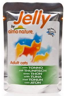 Almo Nature Jelly Cat Tuna (Алмо Натюр Джели Кэт Туна) - Паучи для взрослых кошек тунец в желе 55 гр