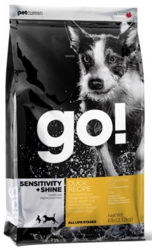 Go!Natural! Sensitivity Duck Dog Recipe 22/12 (Гоу!Нэтурал! Сенситив Дак Дог Ресайп 22/12) - Корм для собак всех пород и возрастов (с уткой и овсянкой) 0,1 кг