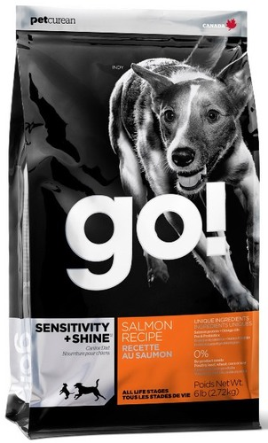 Go!Natural! Sensitivity Salmon Dog Recipe 22/12 (Гоу!Нэтурал! Сенситив Салмон Дог Ресайп 22/12) - Корм для собак всех пород и возрастов (с лососем и овсянкой) 11,35 кг
