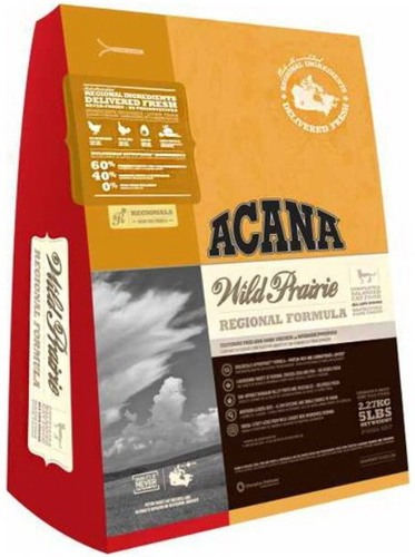 Acana Wild Prairie Cat (Акана Вайлд Прерия Кэт) - Корм для кошек всех пород и возрастов с курицей (БЕЗЗЕРНОВОЙ) 5,4 кг