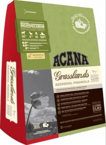Acana Grassland Cat (Акана Грэсслэнд Кэт) - Корм для кошек всех пород и возрастов с ягненком (БЕЗЗЕРНОВОЙ) 5,4 кг