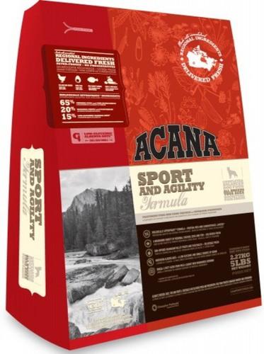 Acana Sport&Agility (Акана Спорт энд Аджилити) - Корм для взрослых собак всех пород с повышенной активностью 18 кг