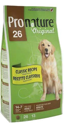 Pronature Dog Adult Large Breed Chicken 26 (Пронатюр Дог Эдалт Лардж Брид Чикен 26) - Пронатюр корм для взрослых собак крупных пород (с курицей) 7 кг