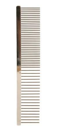TRIXIE (Трикси) - Расческа для собак металлическая с вращающимися зубьями (без ручки, 16 см)
