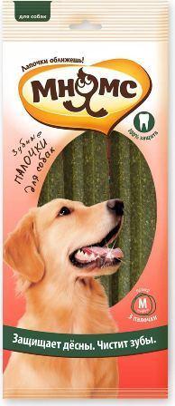 Мнямс - Зубные палочки для собак размер M 3 шт.*65 гр, 17,5 см